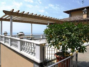 Villa Vista Mare luxury  : Terrace