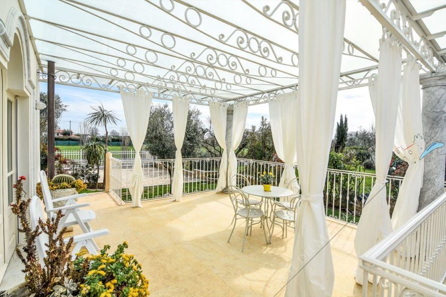 Villa Orchidea : Veranda