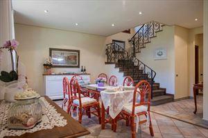 Villa Focette   : Dining room