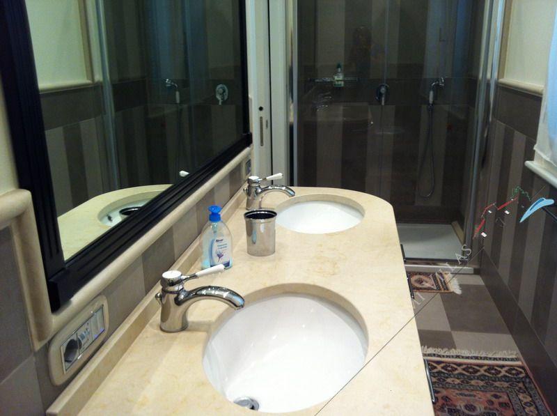 Villa Quality House : Bagno con doccia
