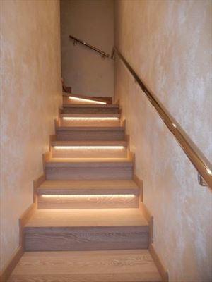 Villa Genziana : Marble stairs