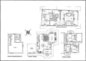 Villa Genziana : planimetry