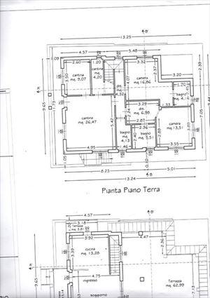 Villa Botero : Planimetria