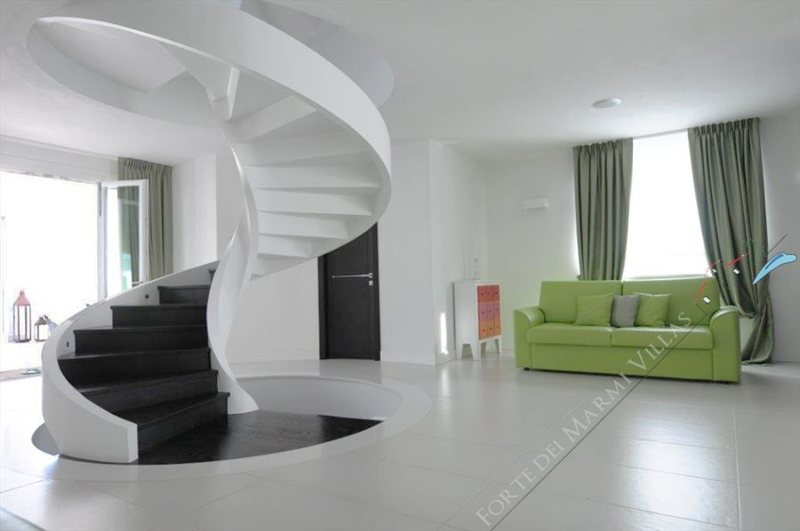 Villa Monet : Wooden stairs