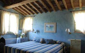Villa  Golf  Versilia  : спальня с двуспальной кроватью