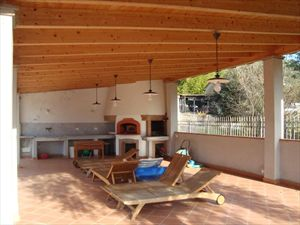 Villa Clementina : Terrace