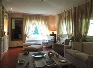 Villa Flora Roma Imperiale : Гостиная