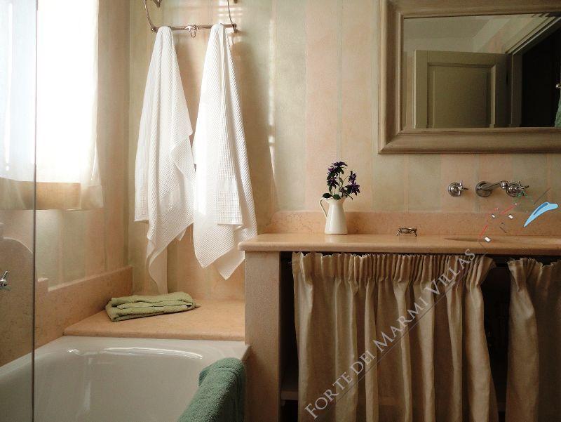 Villa Principe : Bagno con vasca