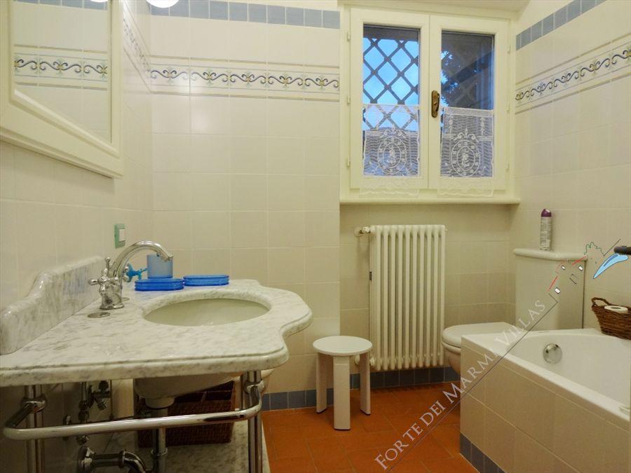 Villa Salome : Bagno con vasca