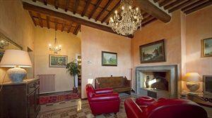Villa Degli Aranci Lucca : Living room